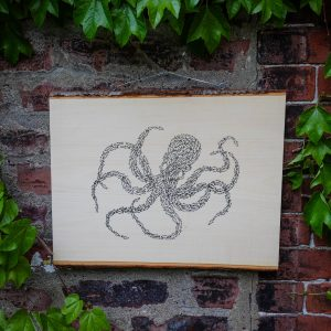 OCTOPUS | Screenprinted Wood Slab
