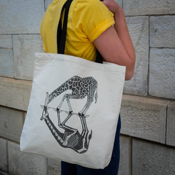 Anatomy of the Giraffe | Tote Bag