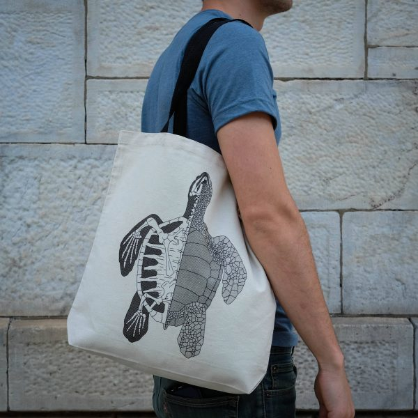 Anatomy of the Turtle   Tote Bag