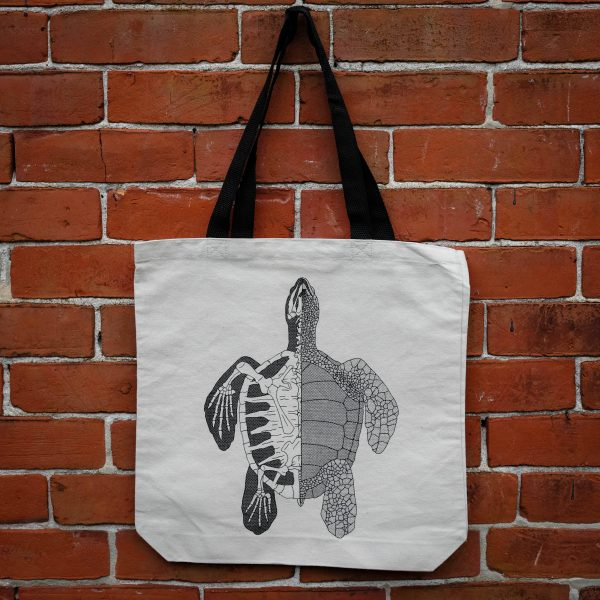 Anatomy of the Turtle | Tote Bag
