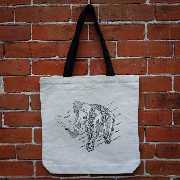 Anatomy of the Elephant | Tote Bag