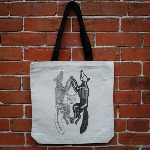 Anatomy of the Fox | Tote Bag